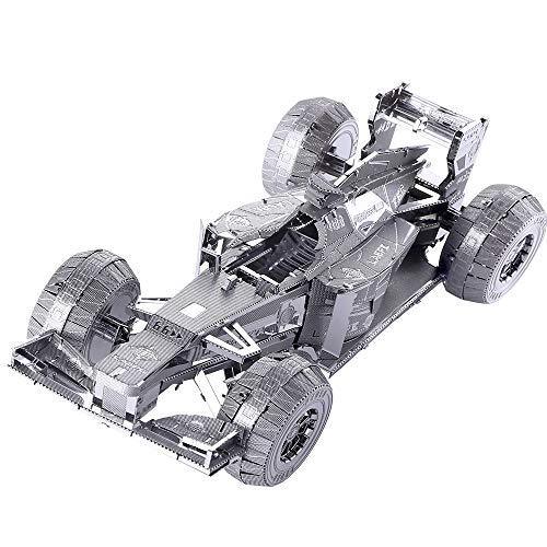 Piececool 3D Metal Model Kit for Adults - Racing-Car 3D Metal Jigsaw Puzzle