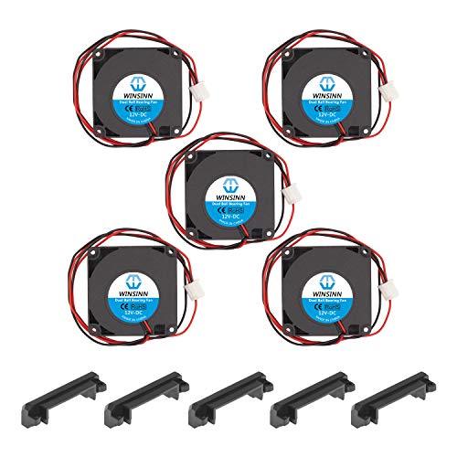Winsinn 2510/5/V 12/V 24/V DC sans balais Ventilateur de Refroidissement 25/mm 25/x 25/x 10/mm pour DIY Ordinateur Portable imprimante 3D 2510 12V