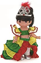 Precious Moments Dolls by The Doll Maker, Linda Rick, Brazil Giovanna, Children of The World, 9 inch Doll