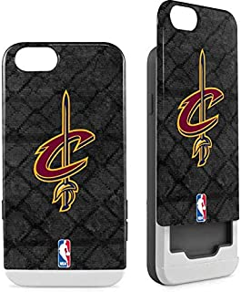 Skinit Wallet Phone Case for iPhone 6/6s - Officially Licensed NBA Cleveland Cavaliers Dark Rust Design