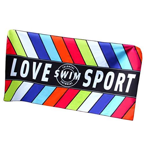 Badhanddoek Strandhanddoeken Volwassene, Sneldrogende Handdoek, Zwemkleding voor heren en vrouwen, Reizen Sneldrogende Strandhanddoek