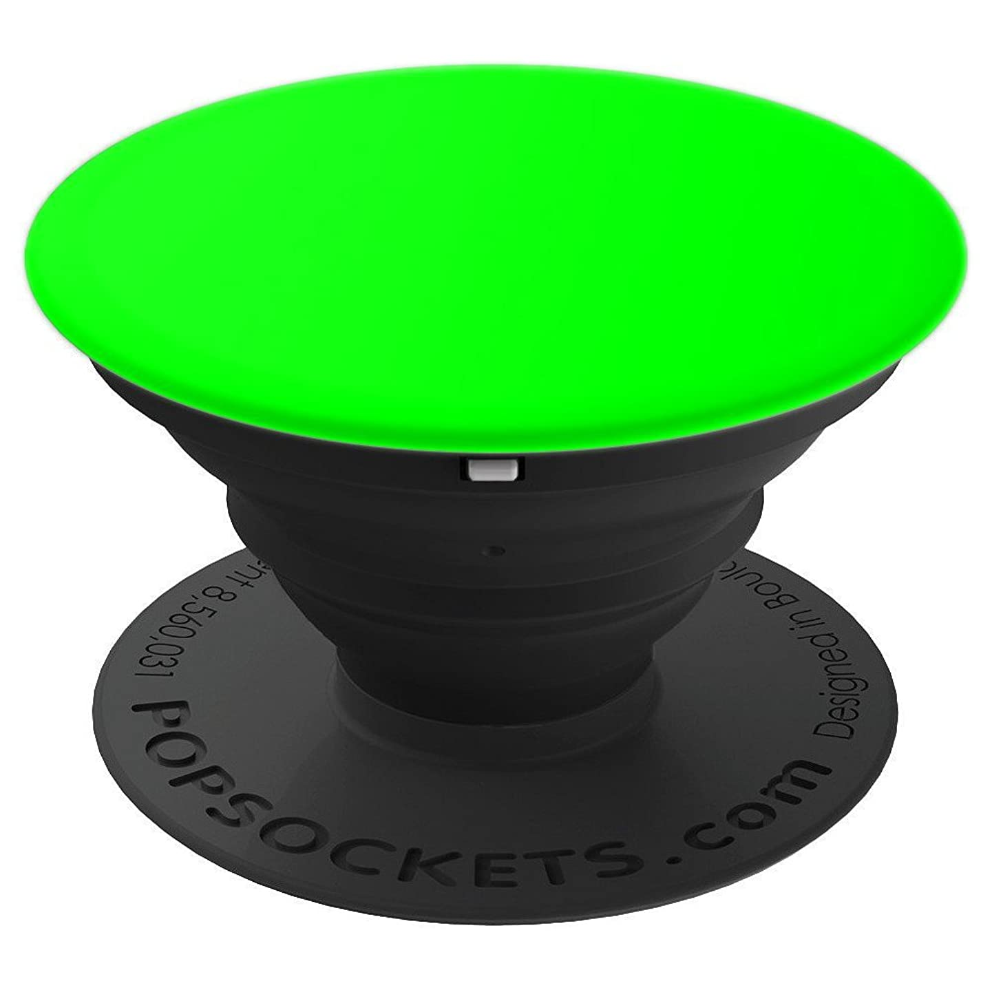 Neon Green Pop Socket Fluorescent Uv Light Phone Charge Case - PopSockets Grip and Stand for Phones and Tablets