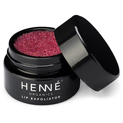 Henné Organics Lip Exfoliator - Natural and Organic Sugar Scrub - Nordic Berries