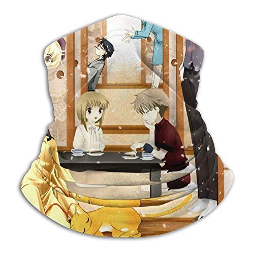 yanting Obstkorb Mikrofaser Halswärmer Kopfbedeckung Stirnband Kopfwickel Schal Hals Tägliche Kleidung für Männer und Frauen