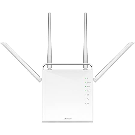 Strong 1200 Router Wi-Fi AC Dualband 300 Mbps 2.4 GHz y 867 Mbps 5 GHz, 4 5dBi Antenas, 4 Gigabit Puertos, USB 3.0, microSD, WPA, WPS