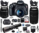 Canon EOS Rebel 2000D DSLR Camera with...