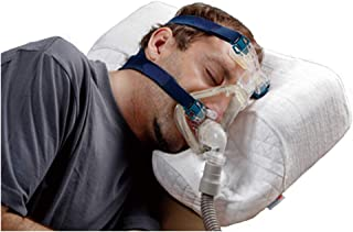 CPAP Pillow Professional for Sleeping with CPAP Machine, Works for Side, Back and Stomach Sleepers, Alleviates Leaking, Re...