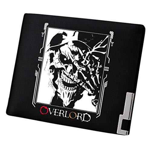 Cosstars Overlord Anime Bifold Brieftasche Kunstleder Schlanke Geldbörse Portemonnaie Kreditkartenhülle /10