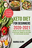 Keto diet for beginners 2020-2021: The most up-to-date guide of 2020-2021 to the keto diet through the loss of body fat to find your right body weight