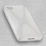 Design X-Rubber Hülle kompatibel mit Blackberry Z10 – Silikon TPU Cover Hülle Schutzhülle in der Farbe Foggy