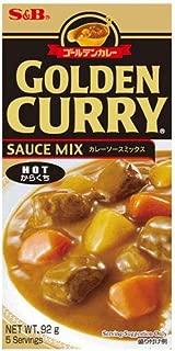 S & B Golden Curry Sauce Mix, Hot, 3.2 oz