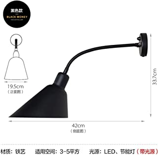 Newcast Light Modern Minimalist Rustic Wall Lamp Suitable for Decoration Bedroom,Living Room,Hallway,Courtyard,Hotel,Bedside Creative Personality Back Wall Lamp Danish Work Office Desk Aj Wall Lamp