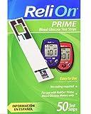 ReliOn Prime Blood Glucose Test Strips (50)