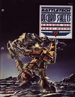 Battletech Record Sheets Volume Six: 3055 Mechs #1668