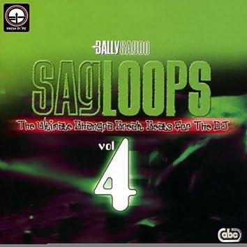 Sagloops Volume 4 - The Ultimate Bhangra Break Beats For The DJ
