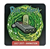 Rick and Morty Portal Gun Pin Badge Loot Crate DX Exclusive Limited Edition Rare