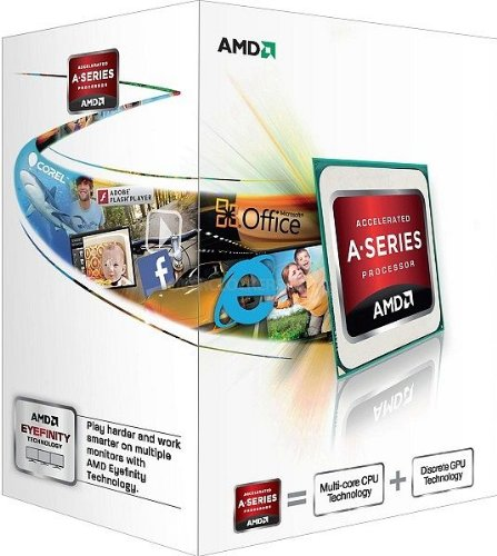 AMD A Series A8-5500 - Procesador (Socket FM2, Quad-Core, 3.2 GHz, 4 MB Cache)