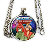 HE-MAN, Orko, and Battle Cat - Masters of the Universe Inspired - pendant necklace - HM