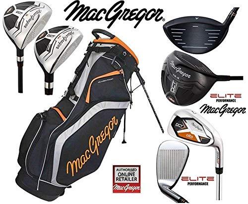 MACGREGOR DCT Elite Steel Ensemble de Golf pour Homme avec Sac trépied
