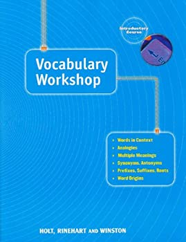Vocabulary Workshop - Introductory Course 0030560233 Book Cover