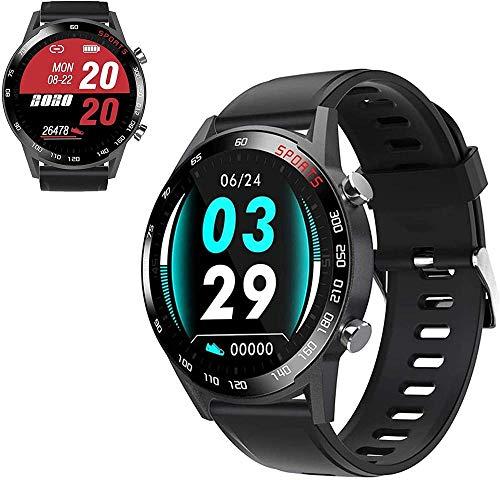 Pantalla Táctil Completa a Color Pantalla Deportes Salud Bluetooth Reloj Frecuencia Cardíaca Presión Arterial Oxígeno en la Sangre, Pulsera Inteligente
