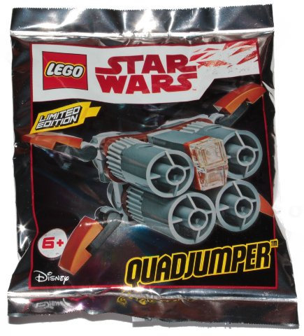 LEGO Star Wars QUADJUMPER Promo Foil Bag Set 911836