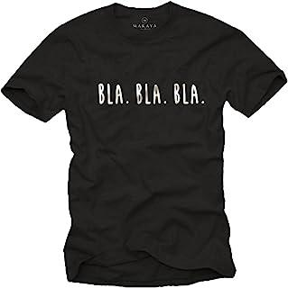 Camisetas Divertidas con Frases para Hombres - BLA BLA BLA