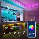 Zoom IMG-2 maxcio striscia led rgb wifi