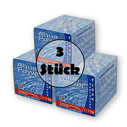 Paradies Pool GmbH Flockkartuschen 24x125g = 3 kg