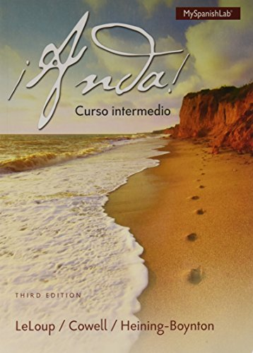 ¡Anda! Curso intermedio plus MyLab Spanish -- Access Card Package (3rd Edition) (Cowell et al., The ¡Anda! Series, 3rd E