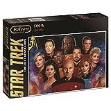 Jumbo Falcon de Luxe Star Trek 500 pcs Puzzle - Rompecabezas (Puzzle Rompecabezas, Televisión/películas, Adultos, Hombre/Mujer, 12 año(s), Cartón)