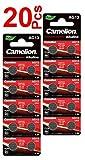 LOT en Paquet 20 Piles Bouton alcaline AG13 LR44/LR1154/1166A/A76/357/303, Montres, calculatrices, caméras, pointeurs sans Mercure