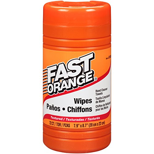 Permatex 25051 Fast Orange Hand Cleaner Wipe - 72 Count