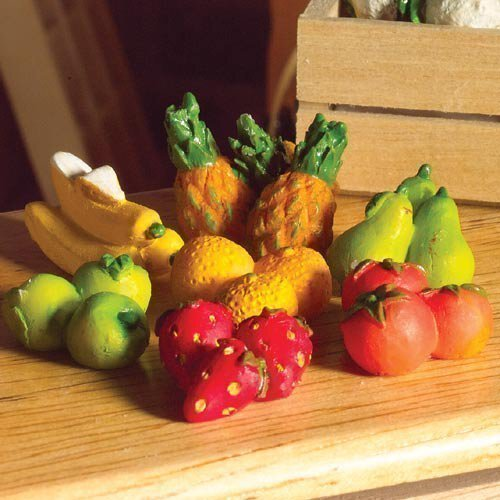 The Dolls House Emporium Fruits Six Pièces (Plastique)