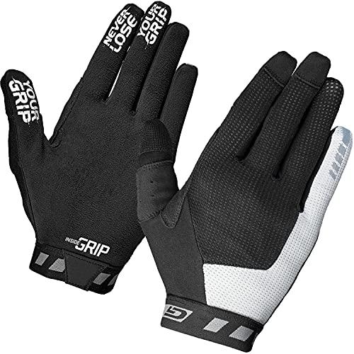 GripGrab Vertical InsideGrip Langfinger Profi MTB Handschuhe Ungepolsterte Rutschfeste Vollfinger Radsporthandschuhe