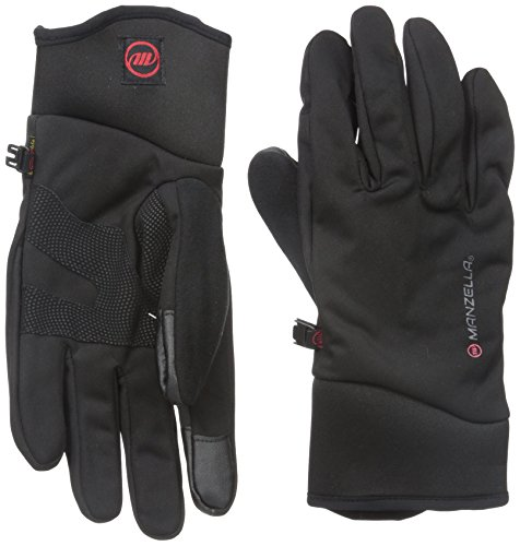 Manzella Men's All Elements 3.0 Touch Tip Gloves, Black, Large