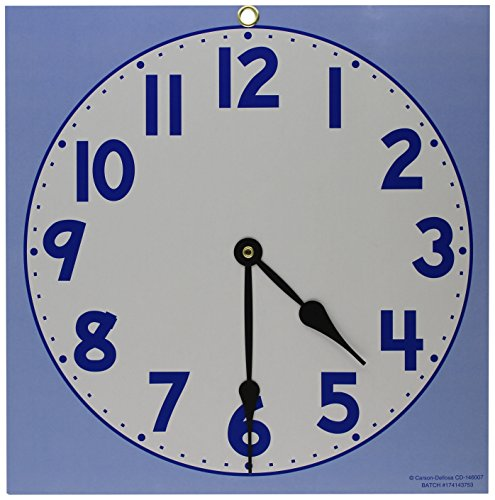 Ideal School Supply Clock Dial, Large