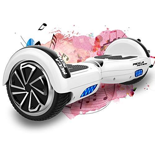 SOUTHERN WOLF Hoverboard Scooter Elettrico Autobilanciante da 6,5 Pollici con Motore Potente 2 * 350 W,LED Colorato a Ruota e Altoparlante Bluetooth,Adatto per Bambini di età 8-12