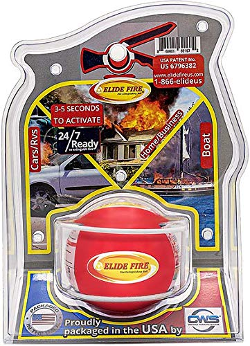 ELIDE FIRE First Aid Fire Fighting Ball Automatic Surveillance Firefighting (1, 4