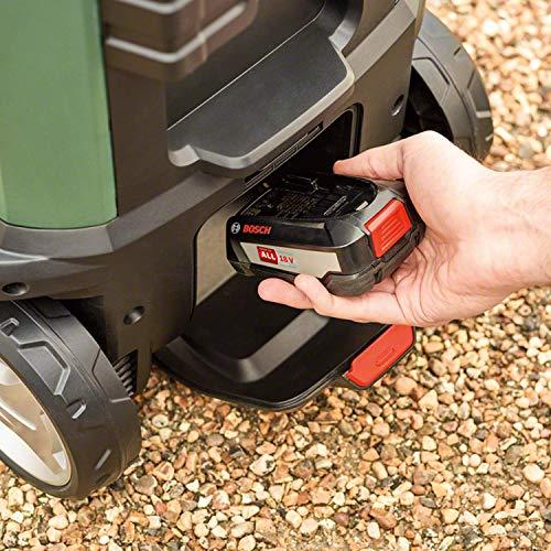 Bosch Akku Outdoor Reiniger Fontus (1 Akku (2,5 Ah), max. Druck: 15bar, 15 L Wassertank, 18 Volt System, im Karton)