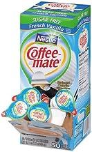 Sugar-Free French Vanilla Creamer, 0.375oz, 50/Box, 4 Boxes/Carton