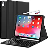 Earto Tastatur Hülle für iPad Pro 11 Zoll 2018,Bluetooth Abnehmbare QWERTZ Tastatur mit...