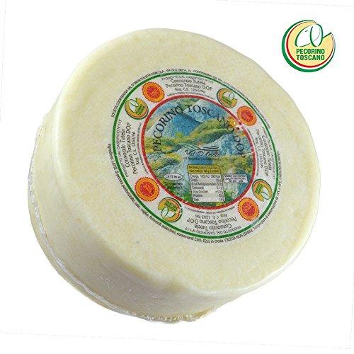 - 1 Pecorino Toscano Dop, formaggio di Pecora Forma intera, peso di Kg. 22 Il Pecorino Toscano DOP a pasta tenera, ha un periodo di maturazione minimo di 20 giorni (ma normalmente è prolungato fino a 45/60 giorni) e un peso che rimane intorno ai 2 Kg...