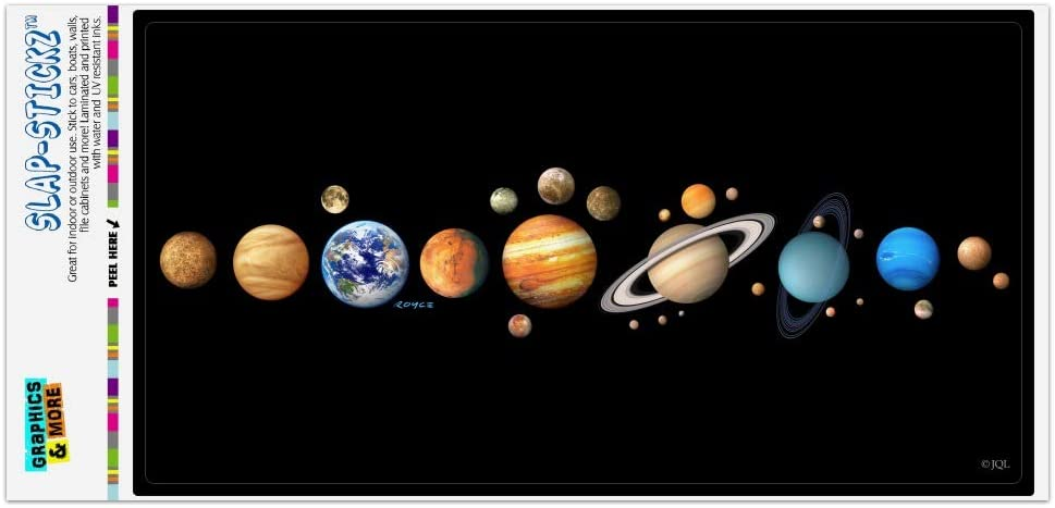 Cord Reels GRAPHICS & MORE Planets Solar System Earth Saturn ...