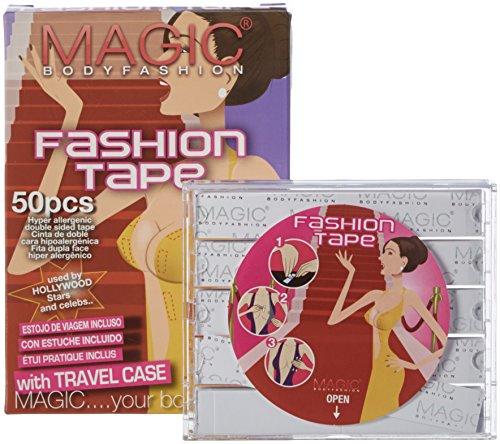 MAGIC BODYFASHION Damen Fashion Tape Wäscheband, Beige (Skin), (Herstellergröße: One Size)