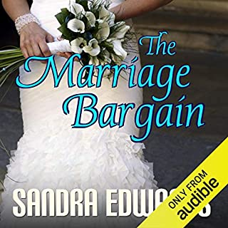 The Marriage Bargain audiobook cover art