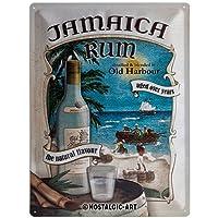 ブリキ看板 リキュール Jamaica Rum/TIN SIGN アメリカン雑貨 インテリア