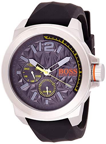 Boss Orologio Multi-quadrante Quarzo Uomo con Cinturino in Gomma 1513347