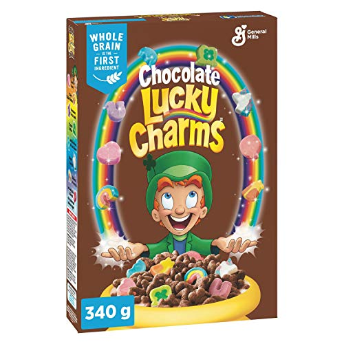 General Mills Chocolate Lucky Charms 2 X Boxes 340g (680g total)