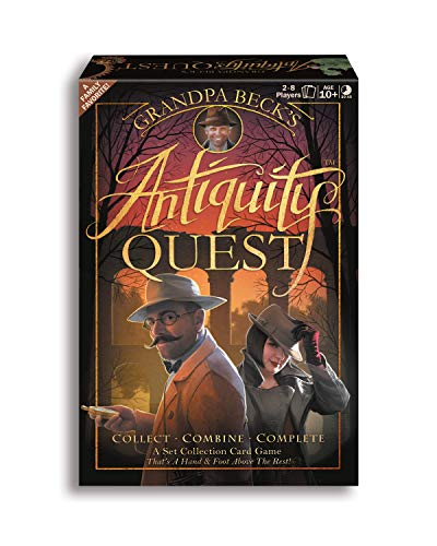Antiquity Quest | A Set Collection Game from The Creators of Cover Your Assets amp Skull King Grandpa Beck#039s Games | 28 Players 10